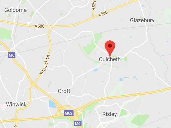 map of culcheth